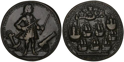 100967  |  UNITED STATES, GREAT BRITAIN, PANAMA & SPAIN. Vernon bronze Medal.