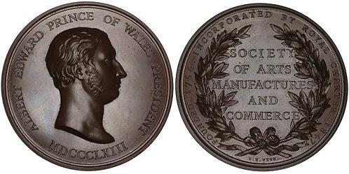 "100905  |  GREAT BRITAIN. ""Owen Jones"" Competition bronze Award Medal."