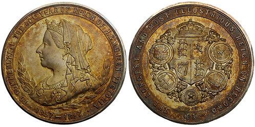 100776  |  GREAT BRITAIN. Victoria silver Medal.