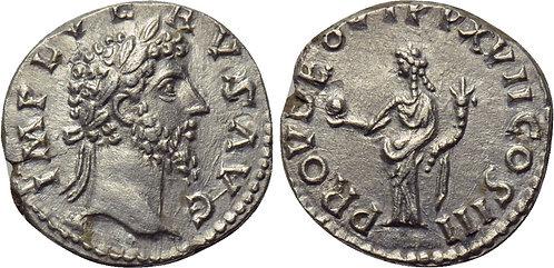 100116  |  ROMAN EMPIRE. Lucius Verus silver Denarius.
