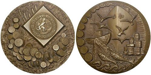101433     SWEDEN. Göteborg Numismatic Association bronze Medal.