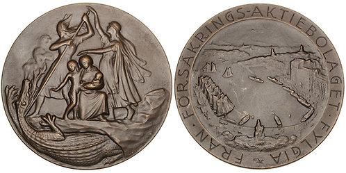 101518     SWEDEN. Försäkrings AB Fylgia bronze Medal.