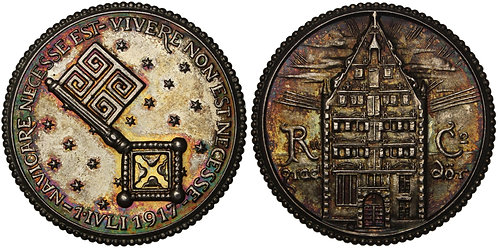 100633  |  GERMANY. Bremen silver Medal.