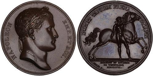 100241  |  FRANCE. Napoleon I bronze Medal.