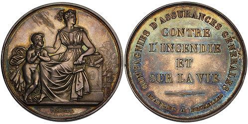 100507  |  BELGIUM. Silver Award Medal.