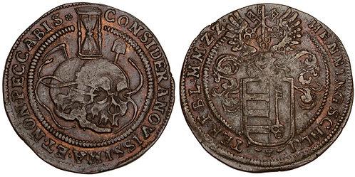 101098  |  GERMANY. Zellerfeld. Copper Rechenpfennig.