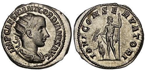 101368  |  ROMAN EMPIRE. Gordian III (Emperor, AD 238-244) silver Antoninianus.