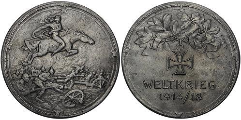 100842  |  GERMANY. Propaganda zinc Medal.