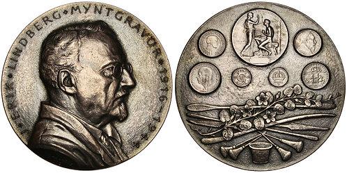 101324  |  SWEDEN. Erik Lindberg silver Medal.