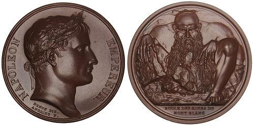 101171  |  FRANCE. Napoléon I bronze Medal.