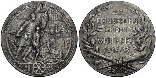 100841  |  GERMANY. Propaganda zinc Medal.