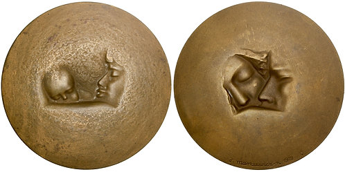 101398     POLAND. International Year of the Child bronze Medal.