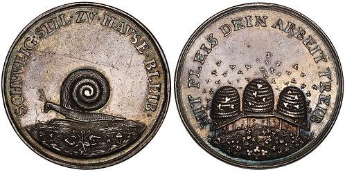 100936  |  GERMANY. Feminine Virtue silver Medal.