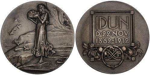 101230  |  SWEDEN. Idun Society silver Medal.