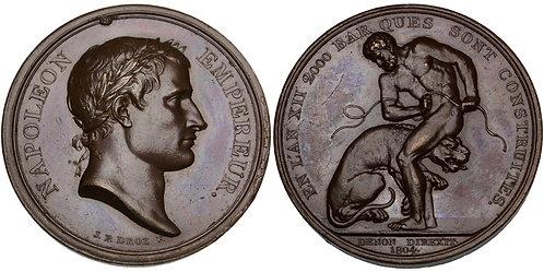 101531  |  FRANCE & GREAT BRITAIN. Napoléon I bronze Medal.