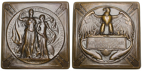 101289  |  UNITED STATES. Louisiana Purchase Int'l Exposition bronze award Medal
