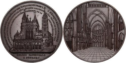 100312  |  BELGIUM. Tournai (Doornik) bronze Medal.