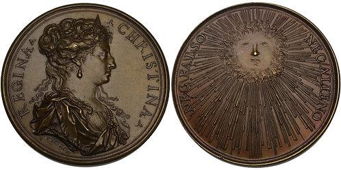 100587  |  SWEDEN. Kristina bronze Medal.