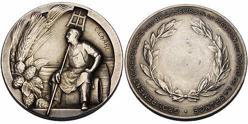 100206     FRANCE. Brewer's Association of Northern France silver Medal.