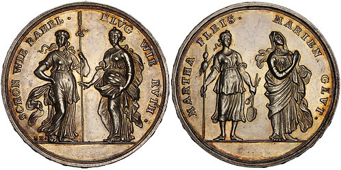 100699  |  GERMANY. Augsburg. Biblical silver Medal.