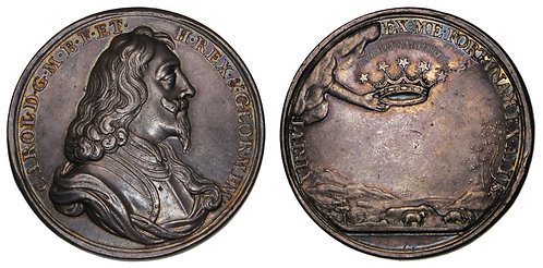 100101     GREAT BRITAIN. Charles I silver Medal.