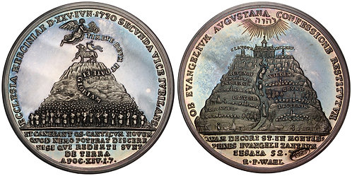 100876  |  GERMANY. Braunschweig-Calenberg-Hannover. Silver Medal.