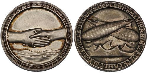 100534     GERMANY. Zeppelin silver Medal.