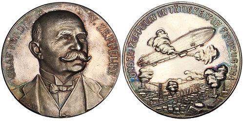 100894  |  GERMANY. Graf von Zeppelin silver Medal.