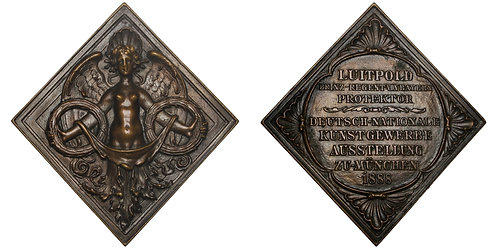 101162  |  GERMANY. München. Cast bronze klippe Award Medal.