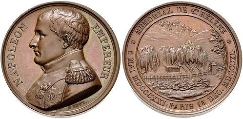 100028   FRANCE. Napoleon I bronze Medal.