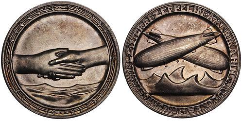 101183  |  GERMANY. Zeppelin silver Medal.