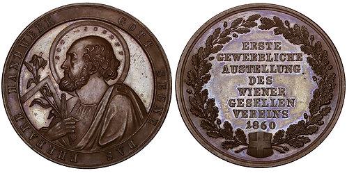 100715  |  AUSTRIA. Wien (Vienna). Journeymen's bronze Medal.