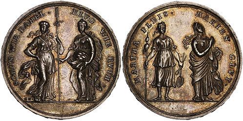 100644  |  GERMANY. Augsburg silver Medal.