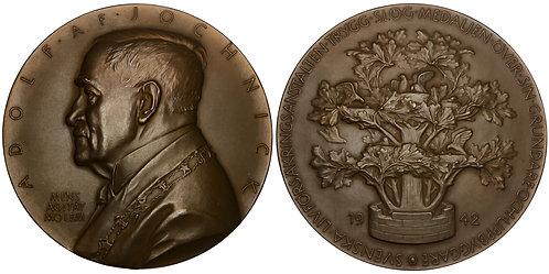 101228  |  SWEDEN. Adolf af Jochnick bronze Medal.
