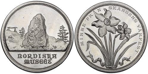 100565  |  SWEDEN. Stockholm. Vårfest aluminum Medal.