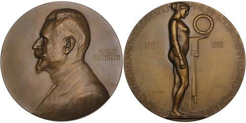 100533     GERMANY. Heinrich August Bernthsen bronze Medal.