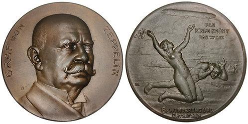 101588  |  GERMANY. Graf von Zeppelin bronze Medal.