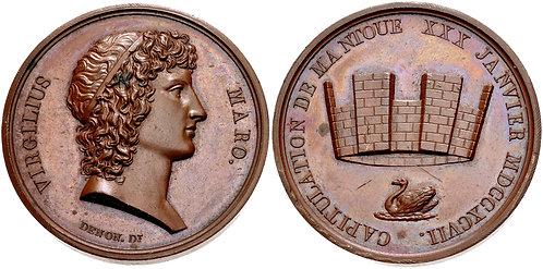 100027 | ITALY/FRANCE. Napoleon I bronze Medal.