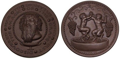 100099  |  UNITED STATES. Hail to Dionysus bronze Medal.