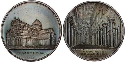 100616  |   ITALY. Duomo di Santa Maria Assunta bronze Medal.