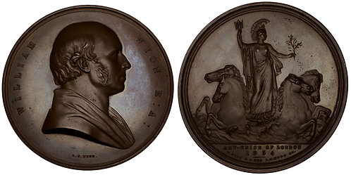 100173  |  GREAT BRITAIN. William Wyon bronze Medal.