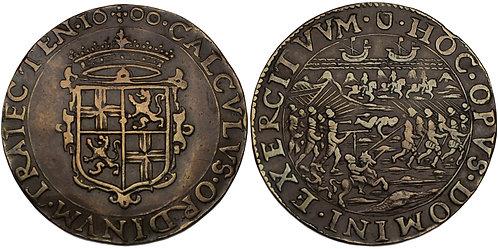 100383  |  GREAT BRITAIN & LOWLANDS. Copper Jeton.