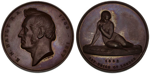 100088     GREAT BRITAIN. Edward Hodges Baily bronze Medal.