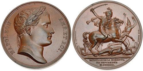 100046 | FRANCE/RUSSIA. Napoleon I bronze Medal.