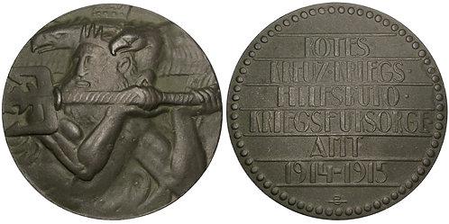 101408  |  AUSTRIA. Naval Warfare zinc Medal.
