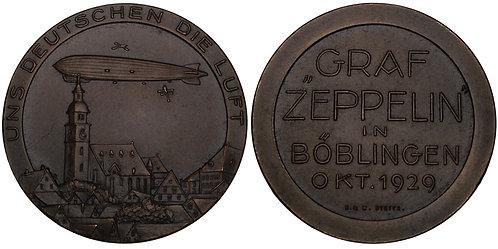 100671  |  GERMANY. Graf Zeppelin bronze Medal.