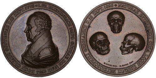 100891  |  GERMANY. Johann Friedrich Blumenbach bronze Medal.