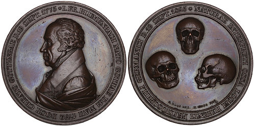 100934  |  GERMANY. Johann Friedrich Blumenbach bronze Medal.