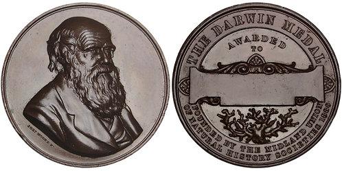 101150  |  GREAT BRITAIN. Charles Darwin bronze Award Medal.