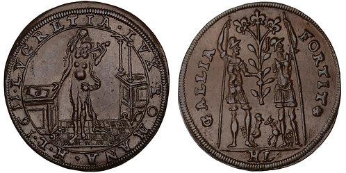 100941  |  GERMANY. Nürnberg. Copper Jeton or Rechenpfennig.